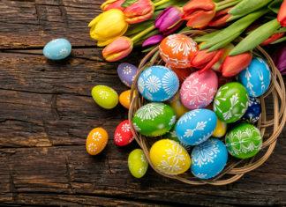 συνταγή για πασχαλινά αυγά με φυσικό τρόπο